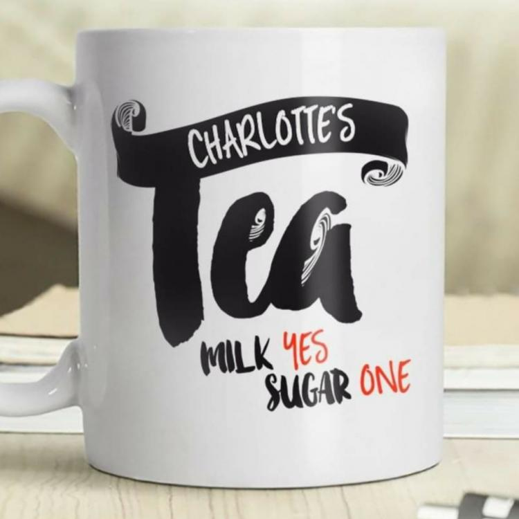 Personalised Name Tea Mug