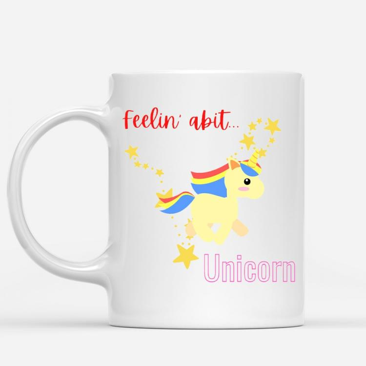 Feelin abit Unicorn Mug