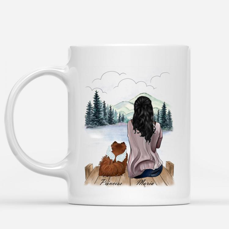 personalised-girl-dog-mug-lake-view