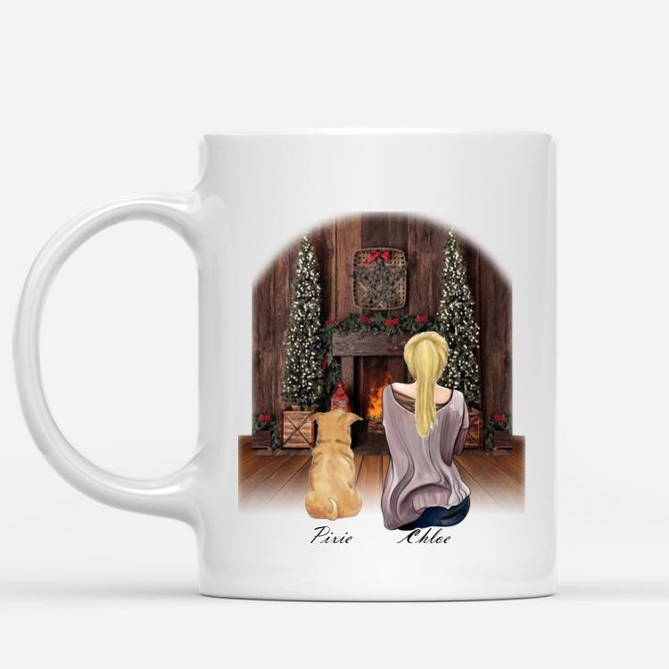 personalised-girl-dog-mug-xmas-fire1