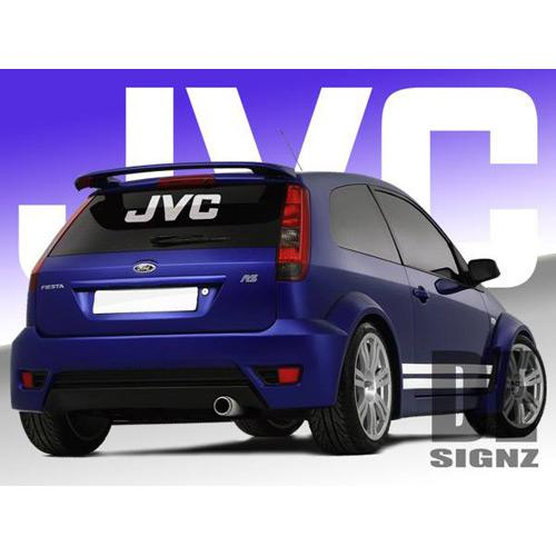 JVC Logo Sticker