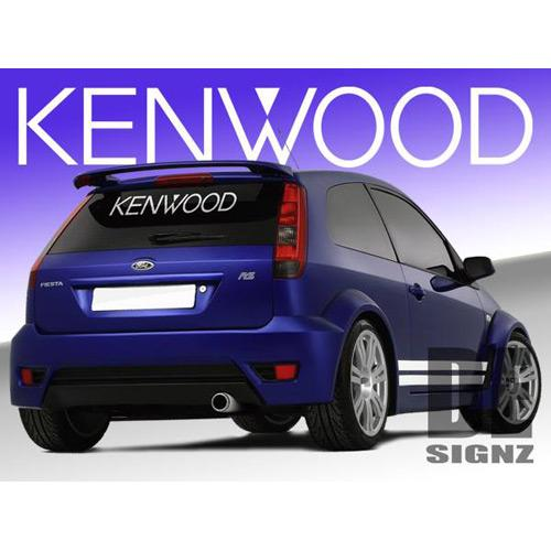 Kenwood Logo Sticker