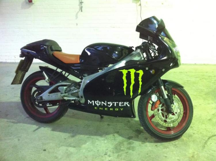 Motorbike Monster Graphics