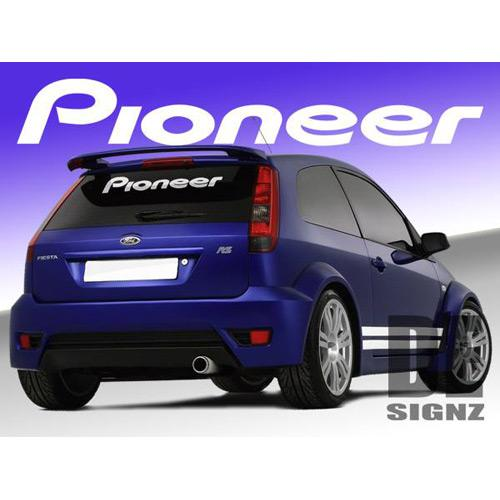 Pioneer Logo Sticker 1