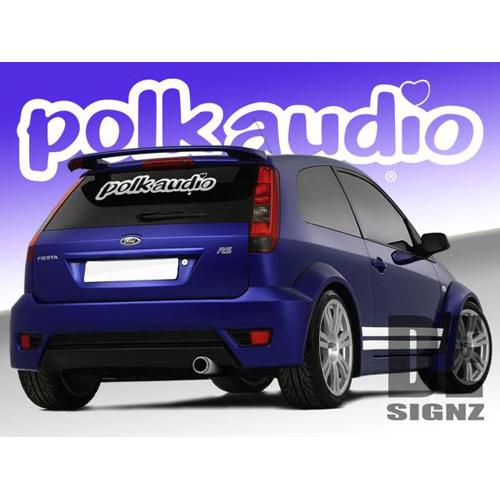 Polk Audio Logo Sticker